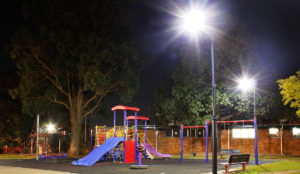 Austeknis street lights LED Mawson Park Campbelltown Council