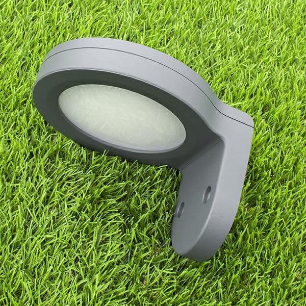 Solar Wall Lamp INX-02 side view