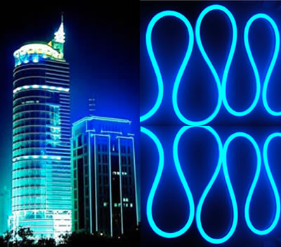 Austeknis LED Neon Flex blue