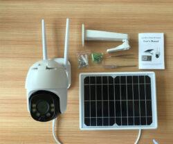 NolecQ9-4G 4G Solar Powered Motion Smart Security PTZ Camera
