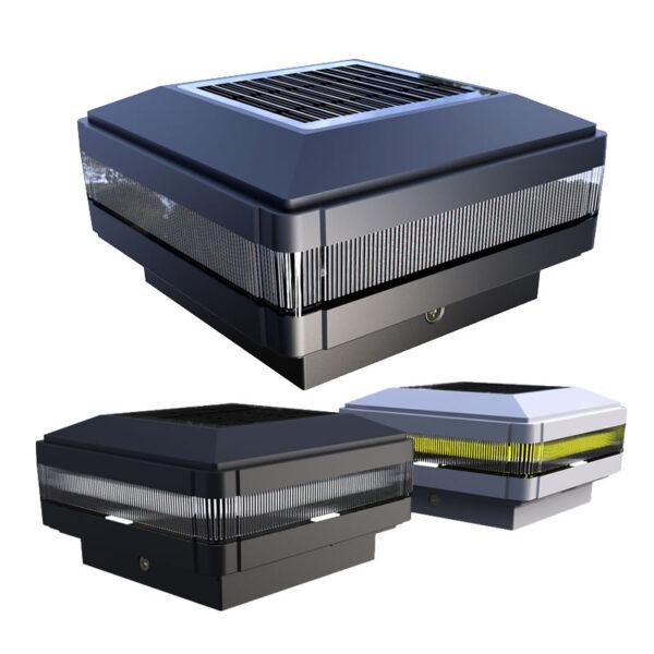 Solar Post Cap LED Light SG-03 from Austeknis.com